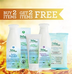 Summer 2016 Baby Skin Care Promotion - Buy two Get two FREE